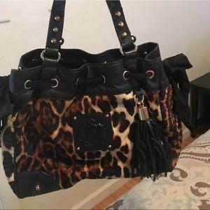 Juicy couture cheetah print purse